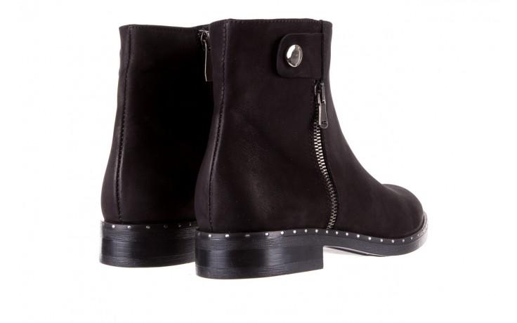 Sztyblety bayla-170 2170 czarne botki, skóra naturalna  - sztyblety - botki - buty damskie - kobieta 3
