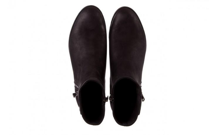 Sztyblety bayla-170 2170 czarne botki, skóra naturalna  - sztyblety - botki - buty damskie - kobieta 4