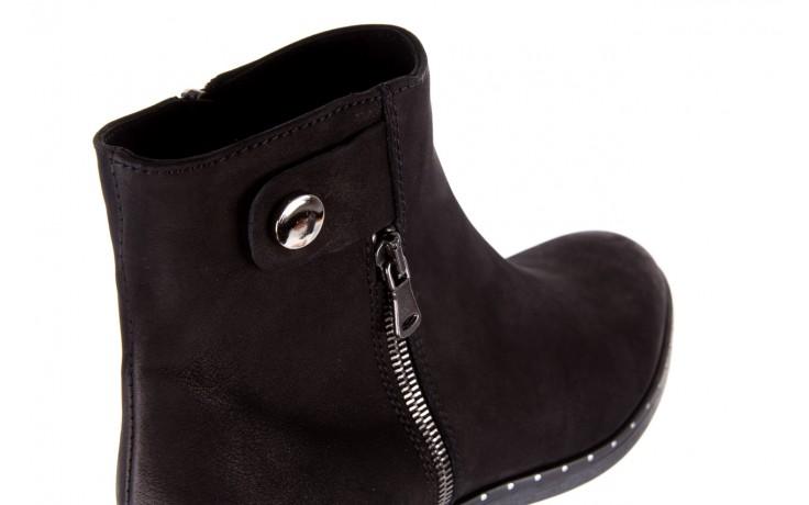 Sztyblety bayla-170 2170 czarne botki, skóra naturalna  - sztyblety - botki - buty damskie - kobieta 6