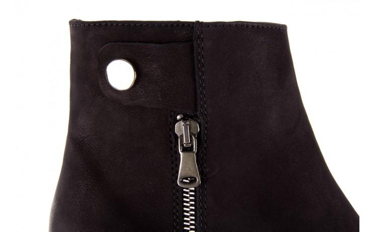 Sztyblety bayla-170 2170 czarne botki, skóra naturalna  - sztyblety - botki - buty damskie - kobieta 7