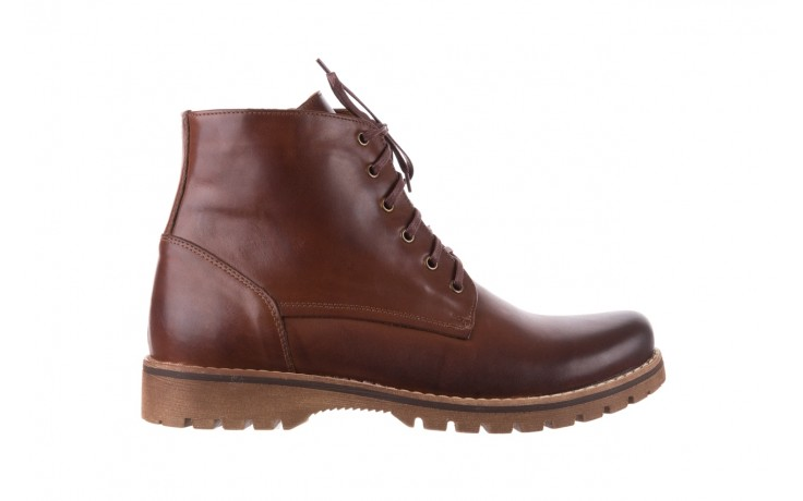 Trzewiki bayla-081 867 brązowe trzewiki, skóra naturalna - trzewiki - buty męskie - mężczyzna