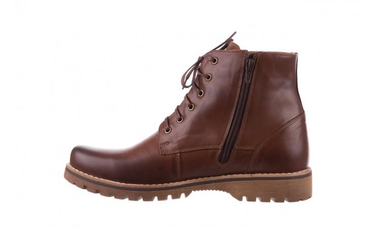Trzewiki bayla-081 867 brązowe trzewiki, skóra naturalna - trzewiki - buty męskie - mężczyzna 2