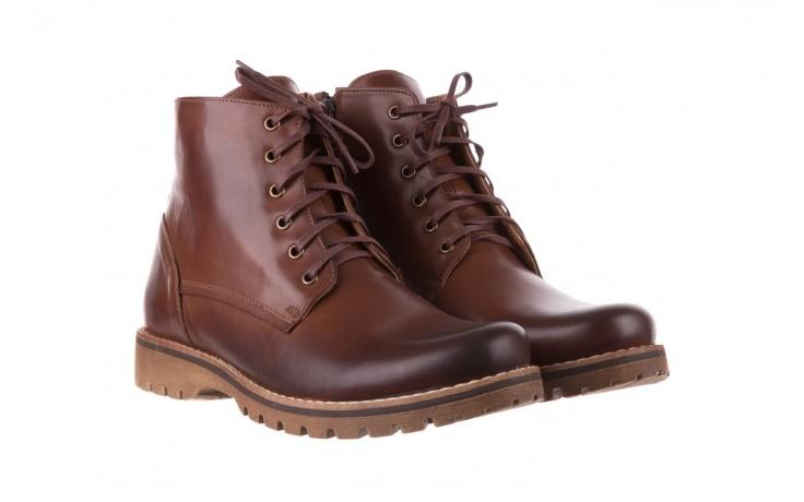 Trzewiki bayla-081 867 brązowe trzewiki, skóra naturalna - trzewiki - buty męskie - mężczyzna 1