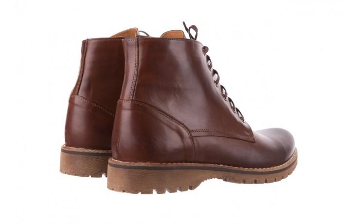 Trzewiki bayla-081 867 brązowe trzewiki, skóra naturalna - trzewiki - buty męskie - mężczyzna 3