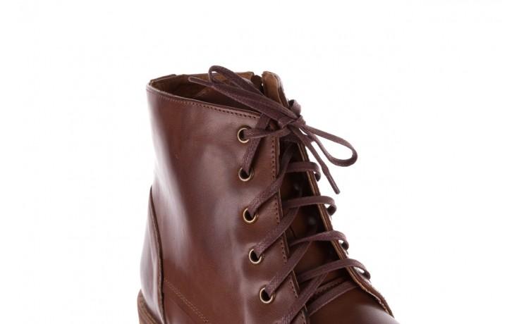 Trzewiki bayla-081 867 brązowe trzewiki, skóra naturalna - trzewiki - buty męskie - mężczyzna 5