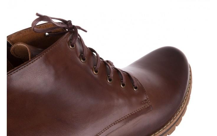 Trzewiki bayla-081 867 brązowe trzewiki, skóra naturalna - trzewiki - buty męskie - mężczyzna 6