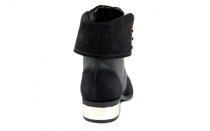 Botki bayla-car 110525 black black, czarny, skóra naturalna - bayla - nasze marki 1