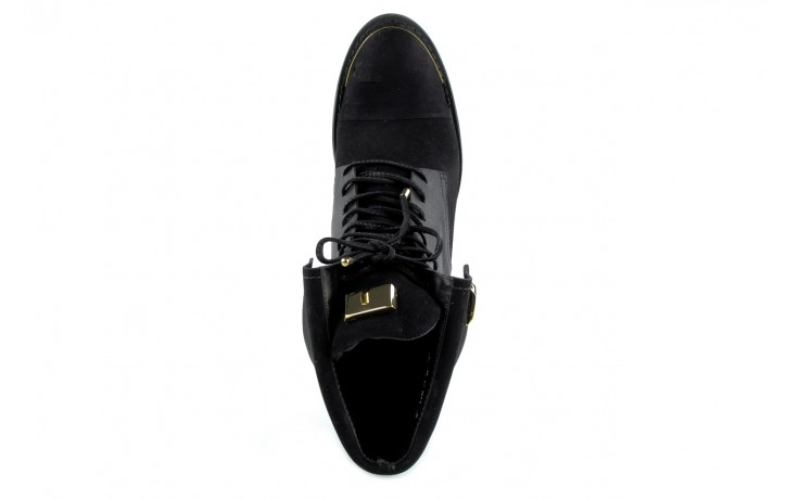 Botki bayla-car 110525 black black, czarny, skóra naturalna - bayla - nasze marki