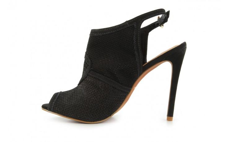 Sandały bayla-cr 106658 nobuck black, czarny, skóra naturalna - bayla - nasze marki 2