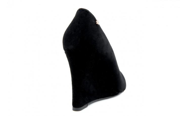 Czółenka bayla-em 6603 black-grey, czarny, skóra naturalna  - bayla - nasze marki 3