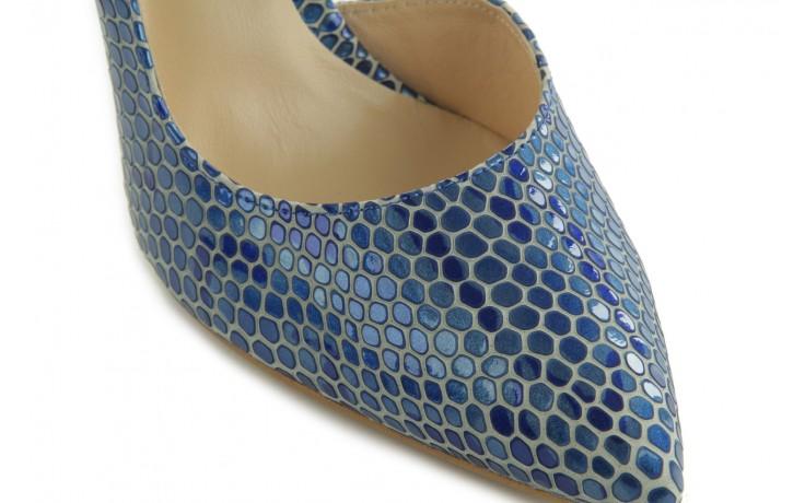 Czółenka bayla-em o6387-766 niebieski, skóra naturalna - bayla - nasze marki 5