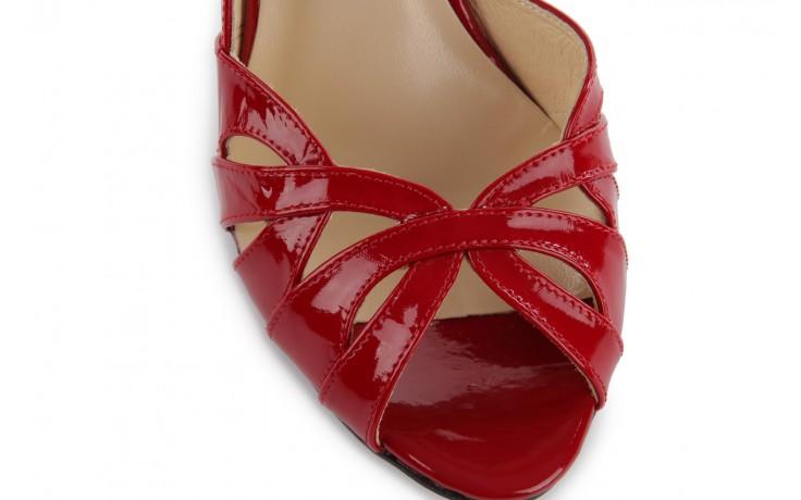 Czółenka bayla-em sl6783-154 czerwony, skóra naturalna lakierowana - bayla - nasze marki 5
