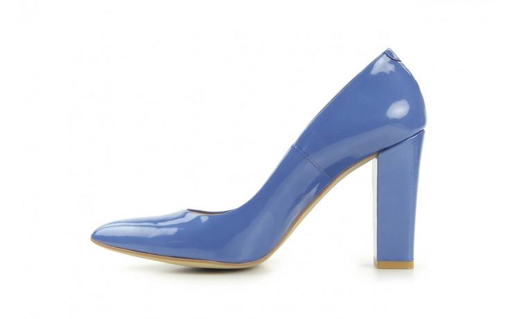 Czółenka bayla-fe 14101 perłowy niebieski, skóra naturalna - bayla - nasze marki 2