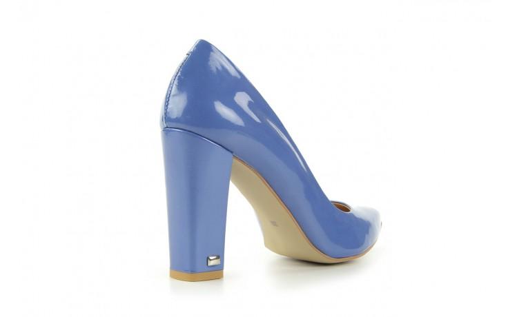 Czółenka bayla-fe 14101 perłowy niebieski, skóra naturalna - bayla - nasze marki 4