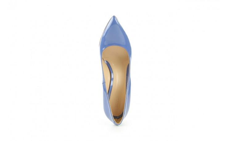 Czółenka bayla-fe 14101 perłowy niebieski, skóra naturalna - bayla - nasze marki 3