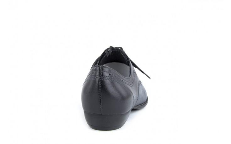 Półbuty bayla-rb r 264 czarny-granat, skóra naturalna  - bayla - nasze marki 1