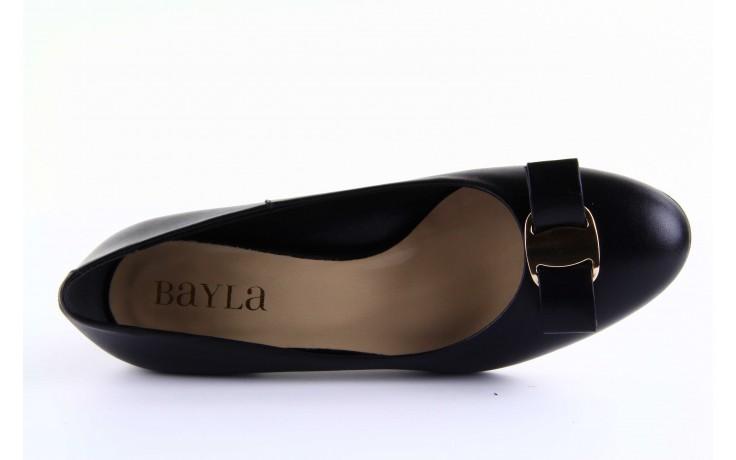 Czółenka bayla-sa 1516-08 czarny, skóra naturalna  - bayla - nasze marki 5