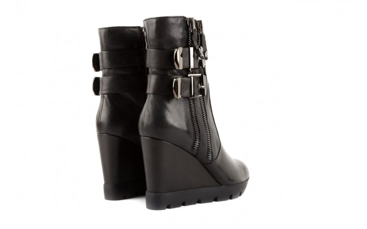 Botki bayla-106 4212001 black, czarny, skóra naturalna - biker - botki - buty damskie - kobieta 3