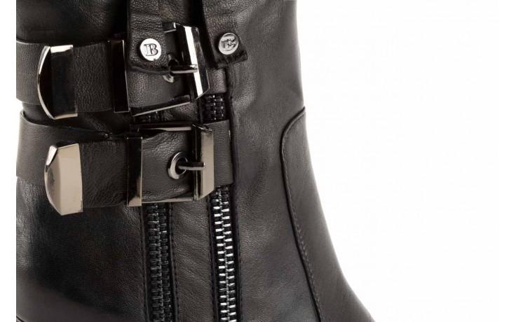 Botki bayla-106 4212001 black, czarny, skóra naturalna - biker - botki - buty damskie - kobieta 5