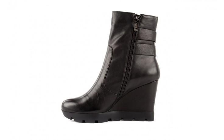 Botki bayla-106 4212001 black, czarny, skóra naturalna - biker - botki - buty damskie - kobieta 2