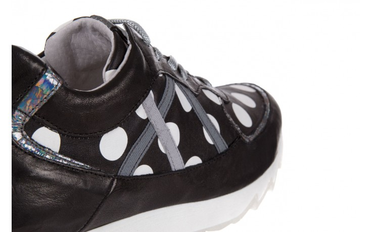 Sneakersy bayla-131 8407 nero, czarny, skóra naturalna  - bayla - nasze marki 5