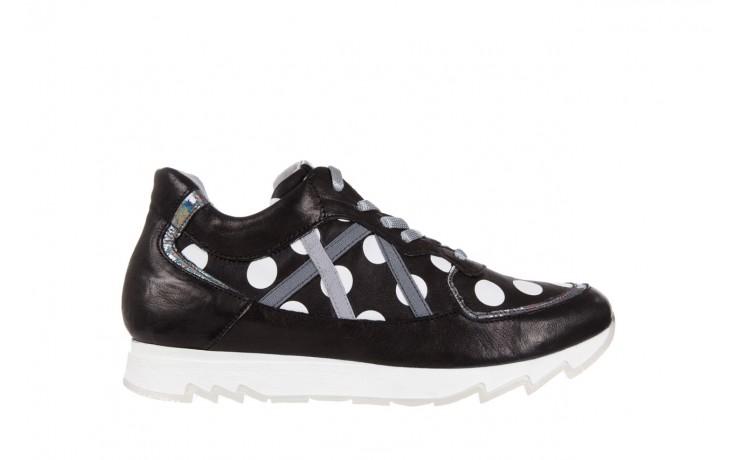 Sneakersy bayla-131 8407 nero, czarny, skóra naturalna  - bayla - nasze marki