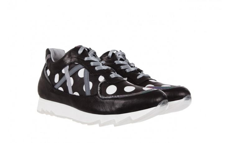 Sneakersy bayla-131 8407 nero, czarny, skóra naturalna  - bayla - nasze marki 1