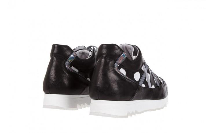 Sneakersy bayla-131 8407 nero, czarny, skóra naturalna  - bayla - nasze marki 3