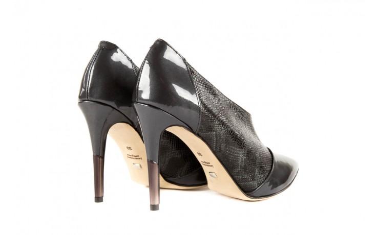 Szpilki bayla-622 34240 antracyt-szary, skóra naturalna lakierowana - na szpilce - botki - buty damskie - kobieta 3