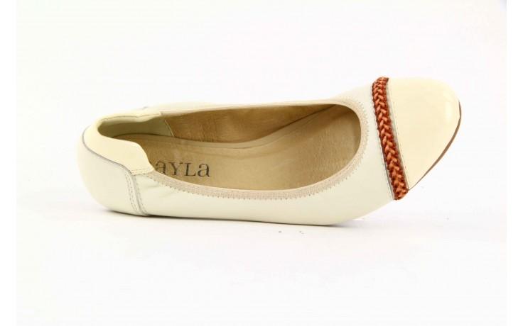 Bayla 07133-379a beige-light beige-camel - bayla - nasze marki 5