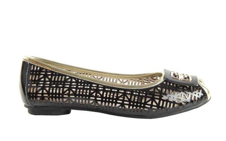 Bayla 07221-x1 black patent leather - bayla - nasze marki