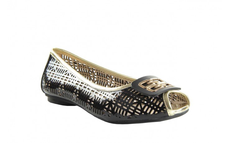 Bayla 07221-x1 black patent leather - bayla - nasze marki 1
