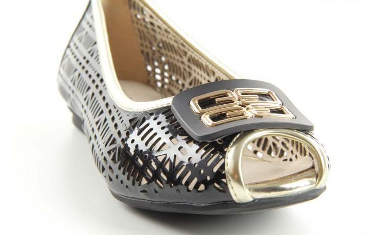 Bayla 07221-x1 black patent leather - bayla - nasze marki 4