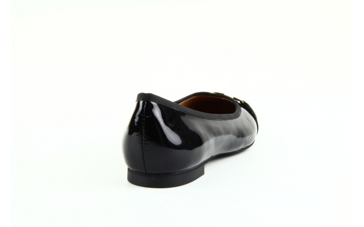 Baleriny bayla 1063-191 black black, czarny, skóra naturalna lakierowana - bayla - nasze marki 1