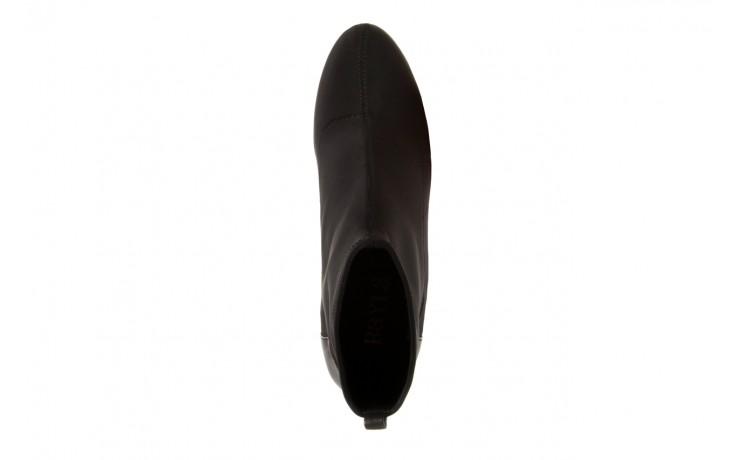 Botki bayla-106 321001 black, czarny, materiał - bayla - nasze marki 4