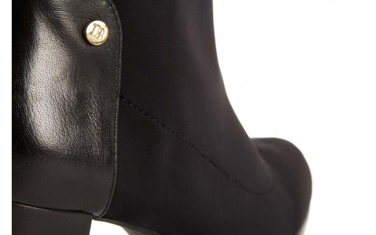 Botki bayla-106 321001 black, czarny, materiał - bayla - nasze marki 5