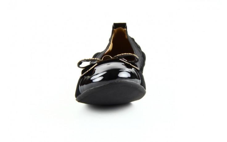 Baleriny bayla 1070-115 black black, czarny, skóra naturalna  - bayla - nasze marki