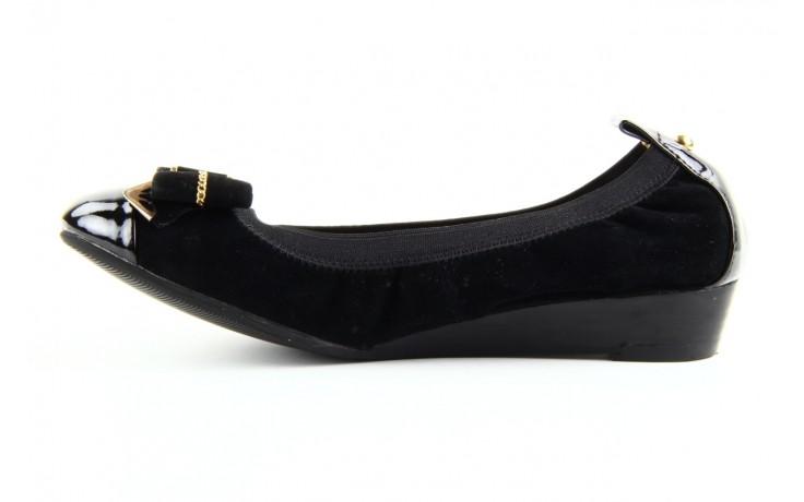 Baleriny bayla 1070-115 black black, czarny, skóra naturalna  - bayla - nasze marki 2