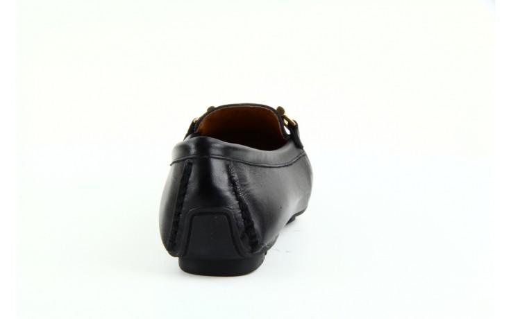 Mokasyny bayla 1535-3 black, czarny, skóra naturalna - bayla - nasze marki