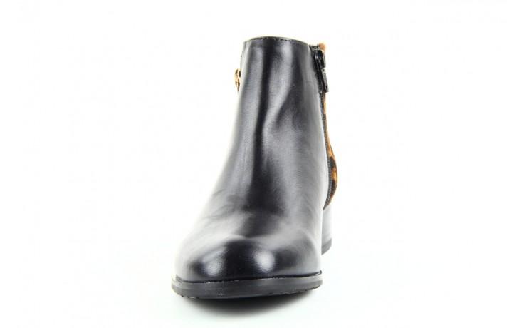 Botki bayla 1555h-5 black brown, czarny, skóra naturalna  - bayla - nasze marki 2