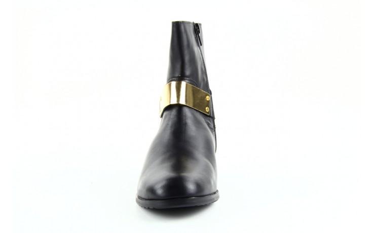 Botki bayla 1555h-8 black, czarny, skóra naturalna  - bayla - nasze marki 2