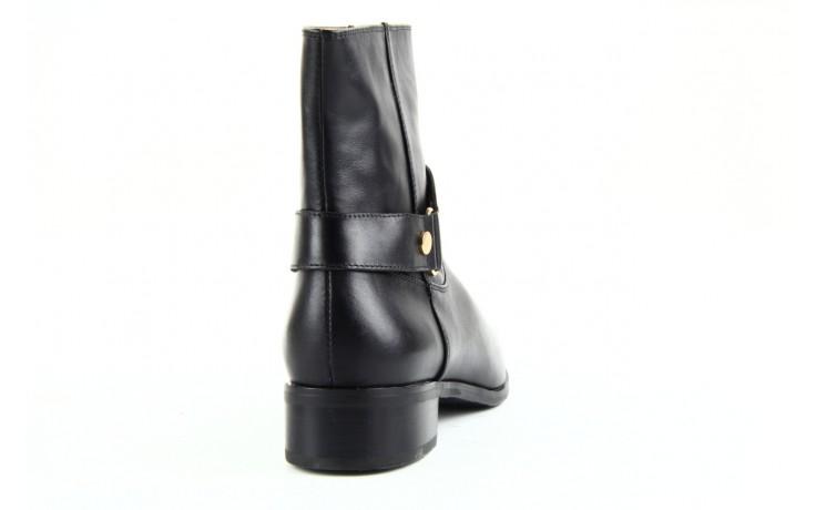 Botki bayla 1555h-8 black, czarny, skóra naturalna  - bayla - nasze marki 3