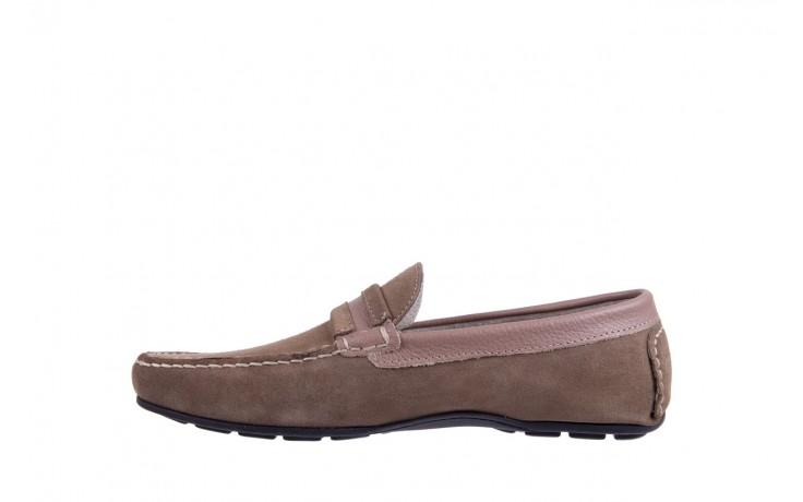 Mokasyny bayla-133 6103 camoscio tortora, beż, skóra naturalna  - mokasyny i espadryle - buty męskie - mężczyzna 2