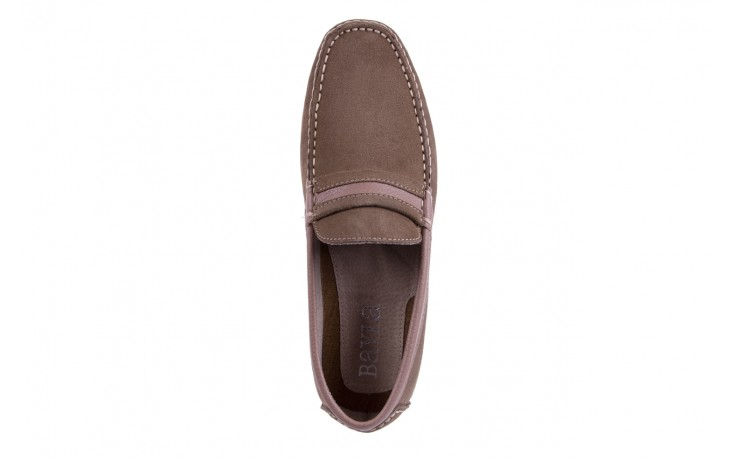 Mokasyny bayla-133 6103 camoscio tortora, beż, skóra naturalna  - mokasyny i espadryle - buty męskie - mężczyzna 4