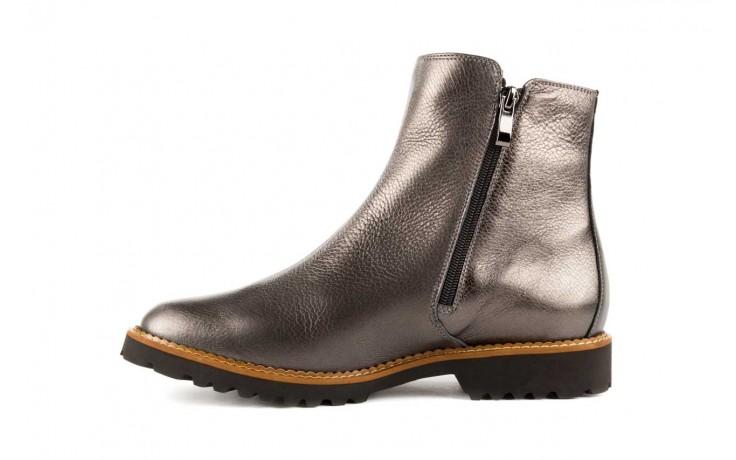 Botki bayla-622 16610 antracyt, braz, skóra naturalna - worker boots - trendy - kobieta 2