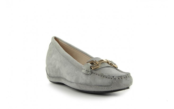 Bayla fl158-35 light grey kid suede - bayla - nasze marki 1