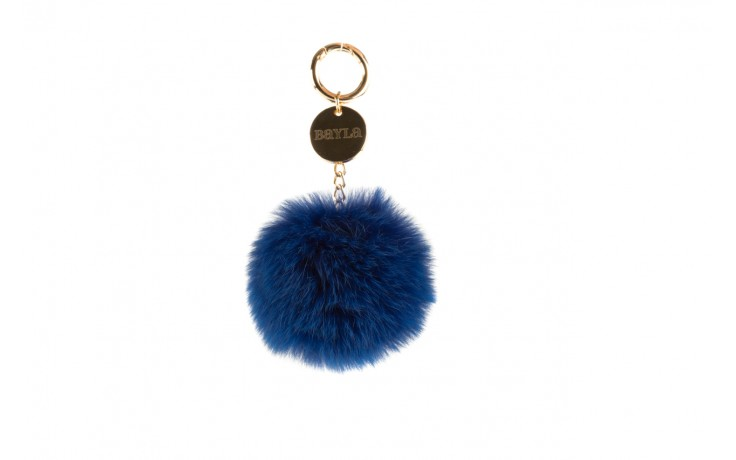 Brelok bayla-125 brelok łańcuch jenot niebieski, futro naturalne - bayla - nasze marki