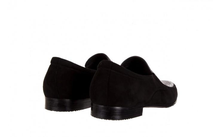 Mokasyny brooman 1352-46ea black, czarny, skóra naturalna  - mokasyny i espadryle - buty męskie - mężczyzna 3
