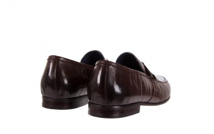 Mokasyny brooman 7712-01g132 brown, brąz, skóra naturalna  - brooman - nasze marki 3