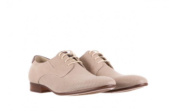 Półbuty brooman 7760-207h721 beige, beż, skóra naturalna  - wizytowe - półbuty - buty męskie - mężczyzna 1